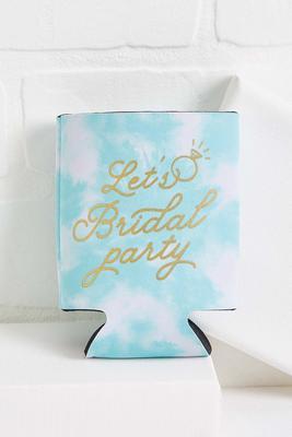bridal party koozie