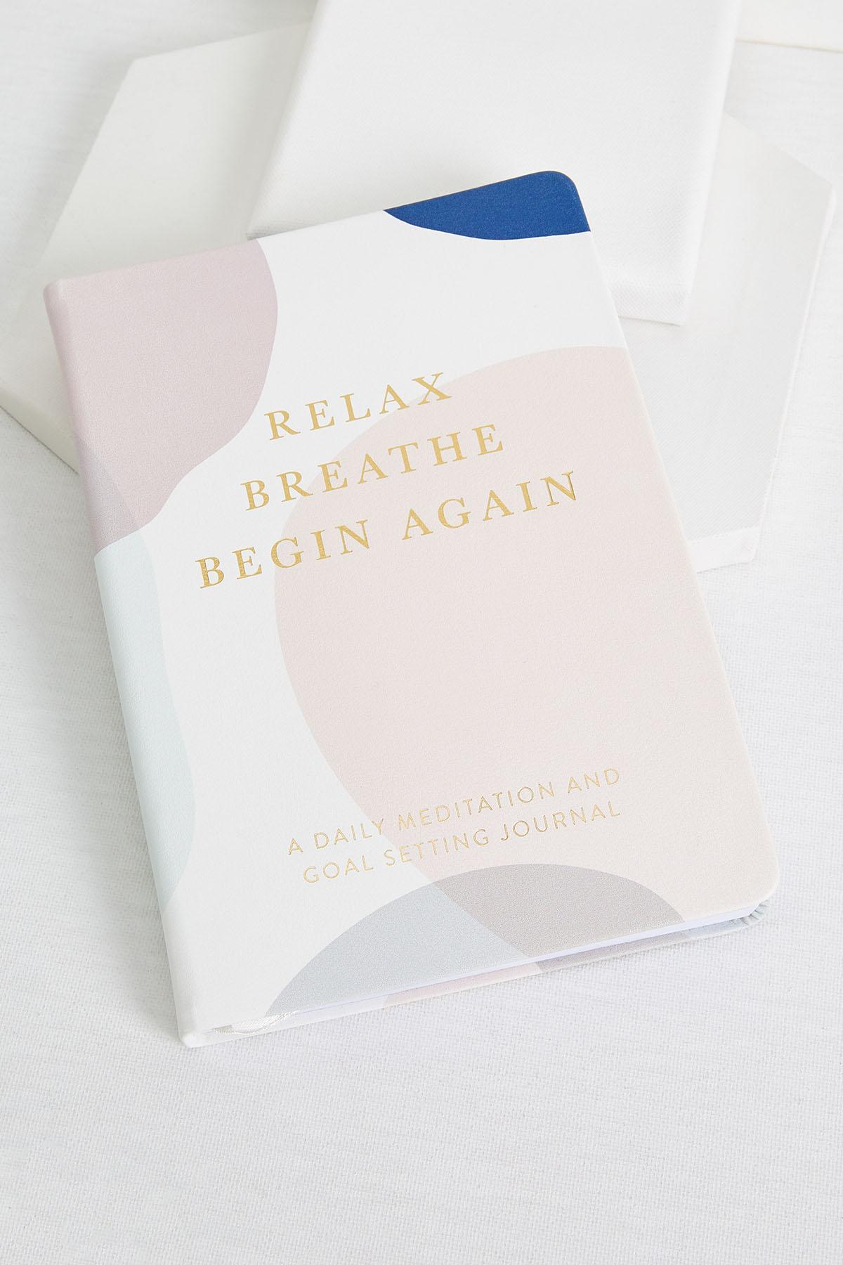 Relax And Breath Journal