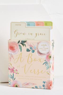 a box of verses