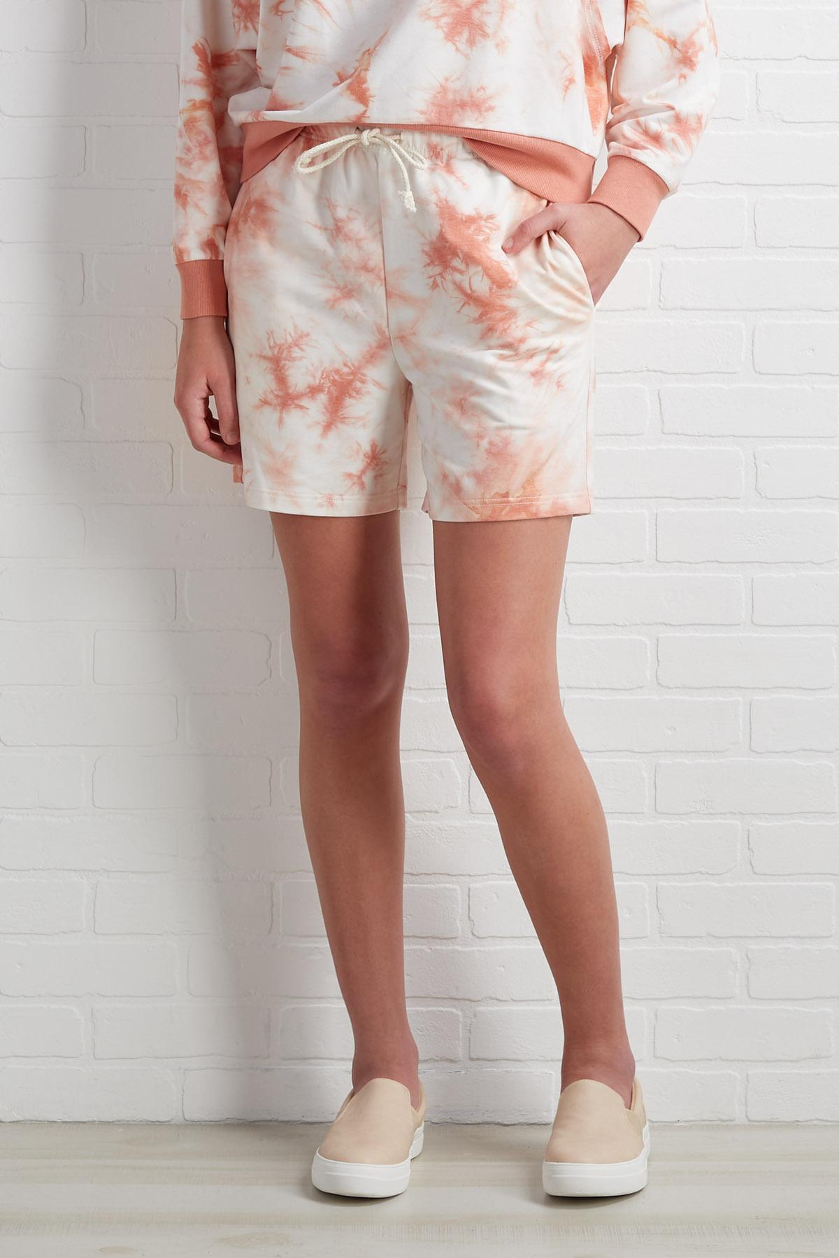 Seams Casual Shorts