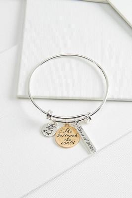 class of 2021 charm bracelet
