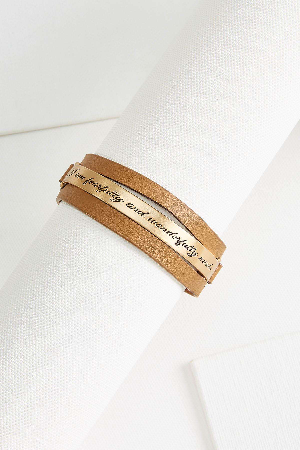 Fearfully Made Leather Bracelet