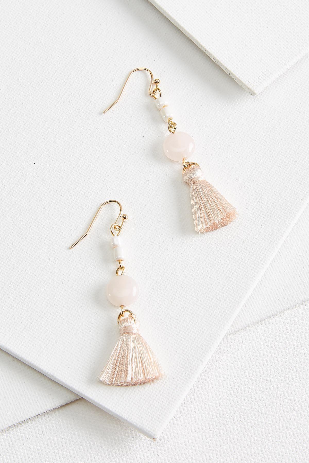 Teeny Tiny Tassel Earrings