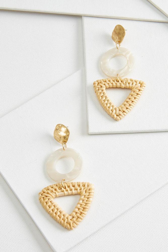 Raffia Boho Earrings