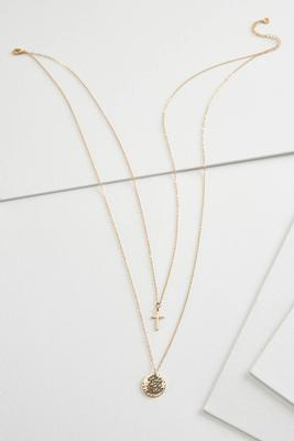 be strong dainty necklace