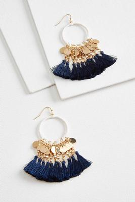 fab fringe earrings