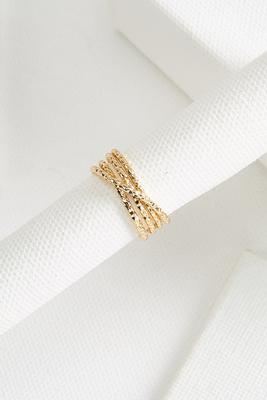 faux stacked ring