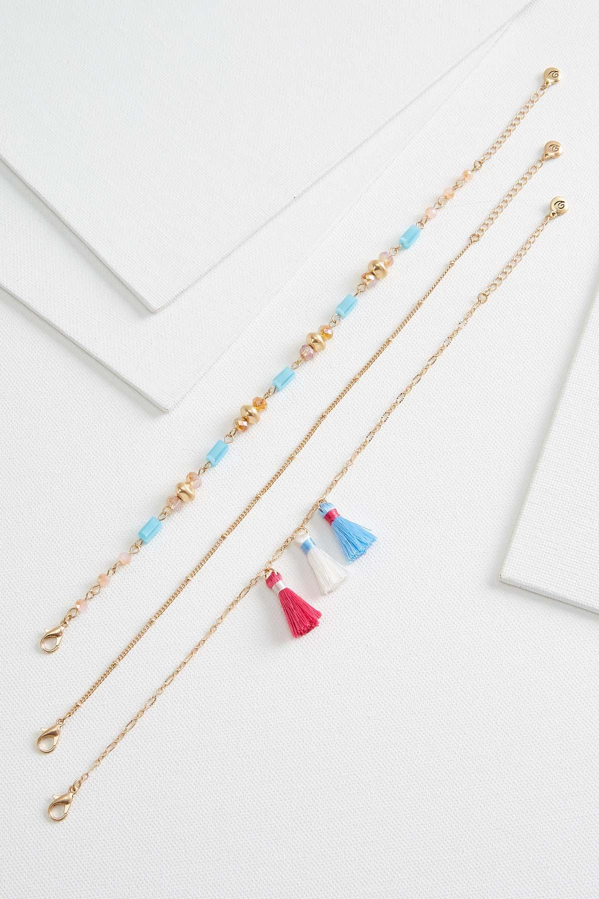 Tassel Beaded Anklet