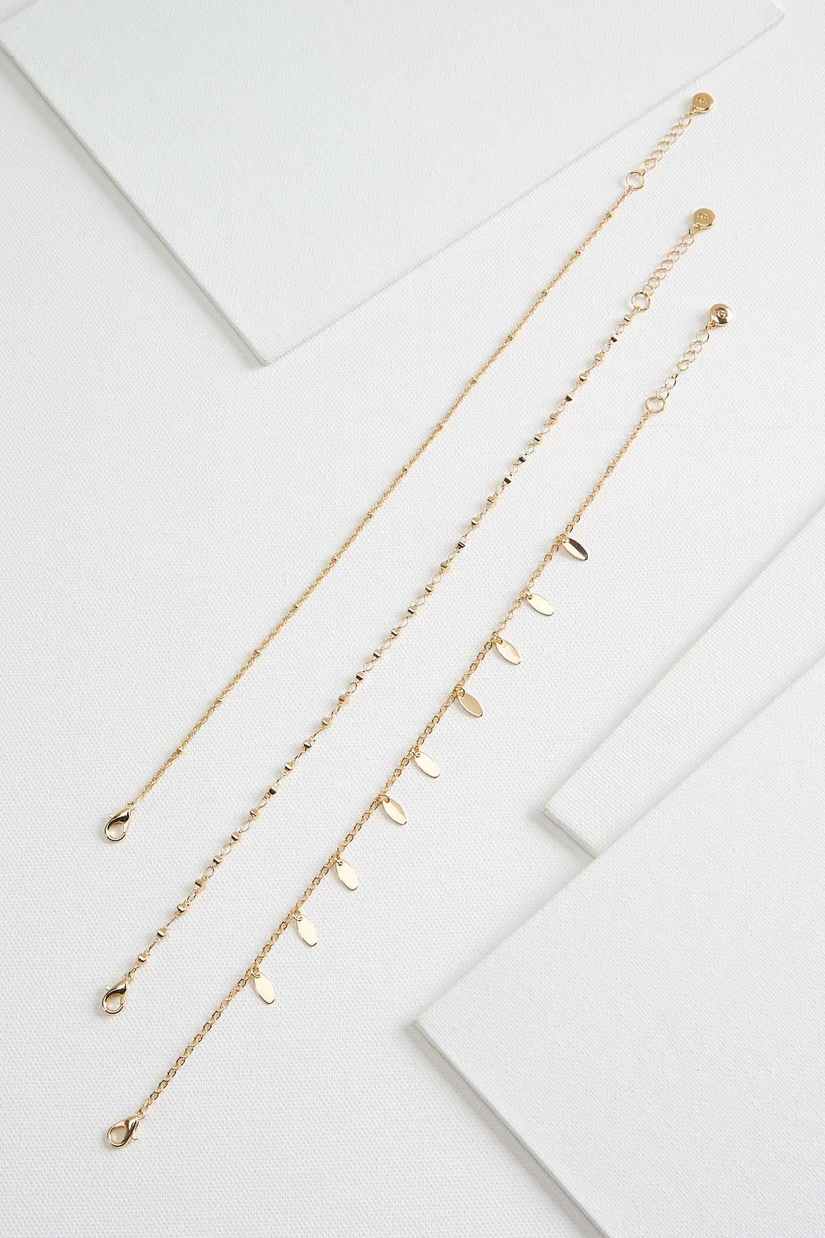 Metal Shaky Anklet