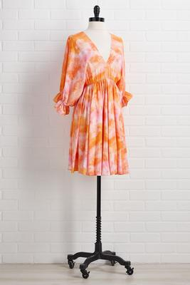 summer citrus dress