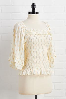 shimmering seas top