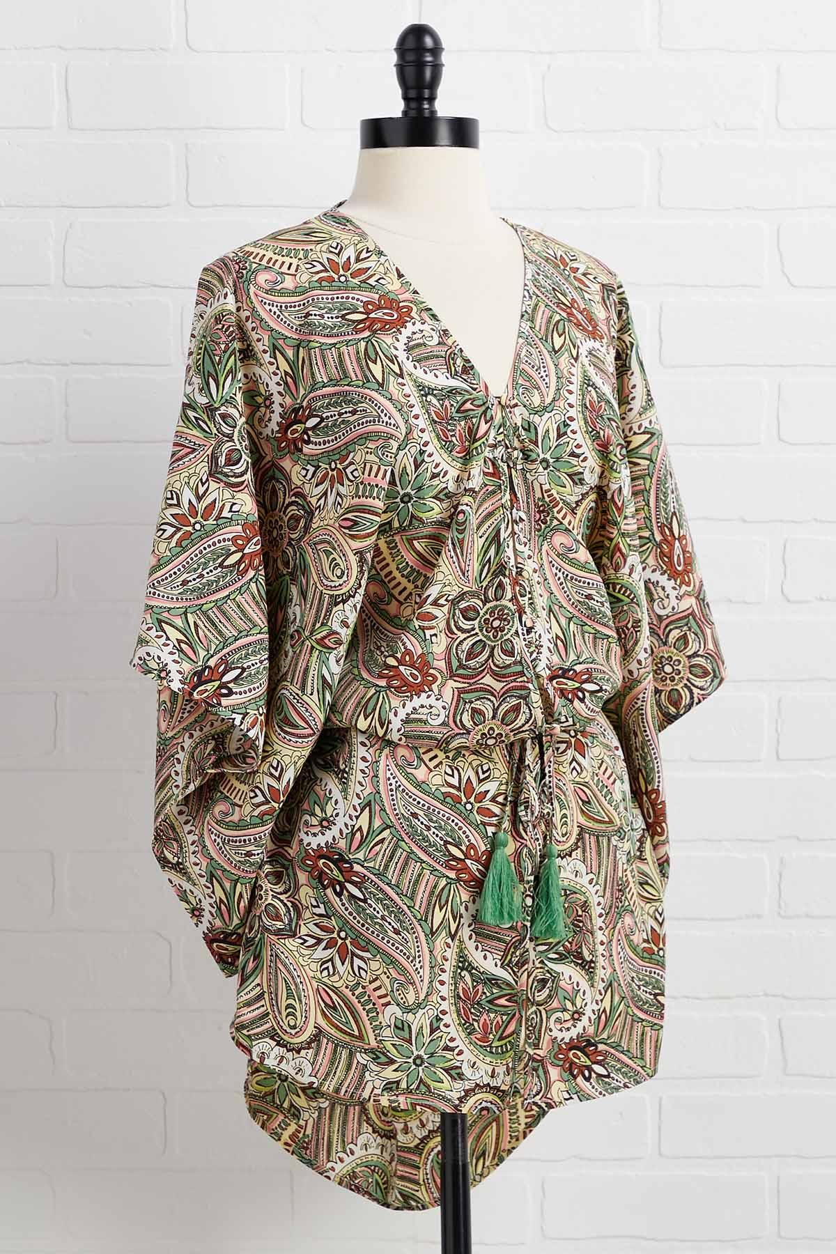 It Paisley To Be Kind Kimono
