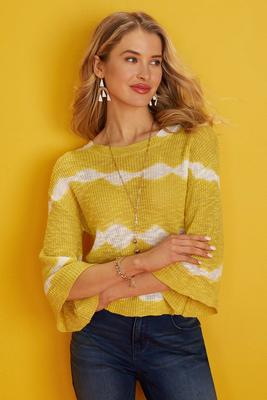had me at yellow sweater