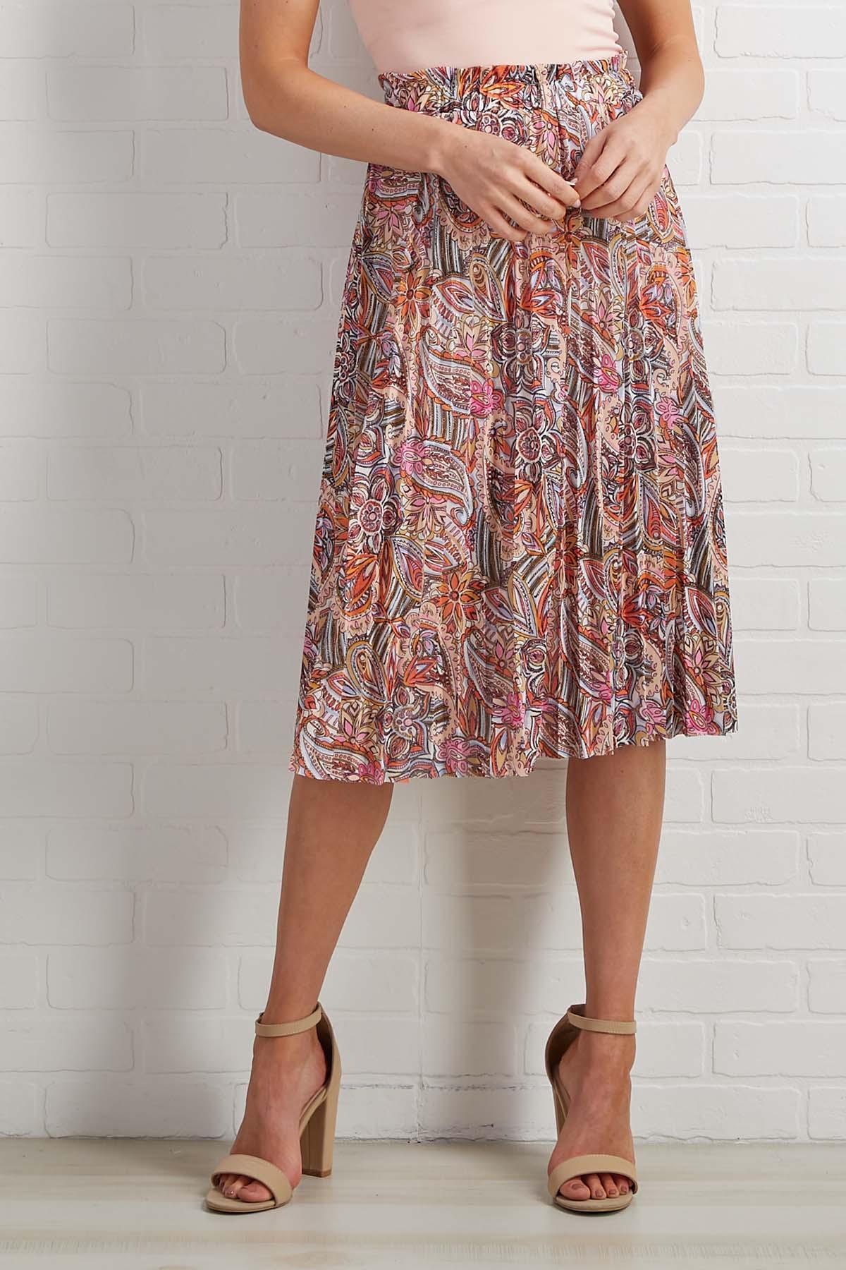 Sweet Pleats Skirt
