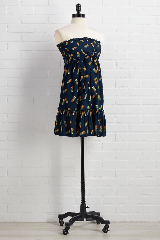 Pineapple Of My Eye Dress