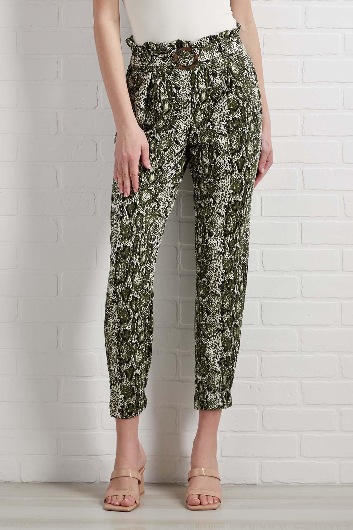 Take In The Greenery Pants