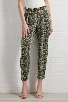 take in the greenery pants