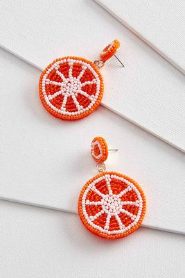 orange these cute earrings