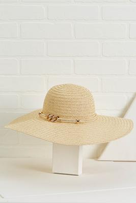 rope and chain floppy hat