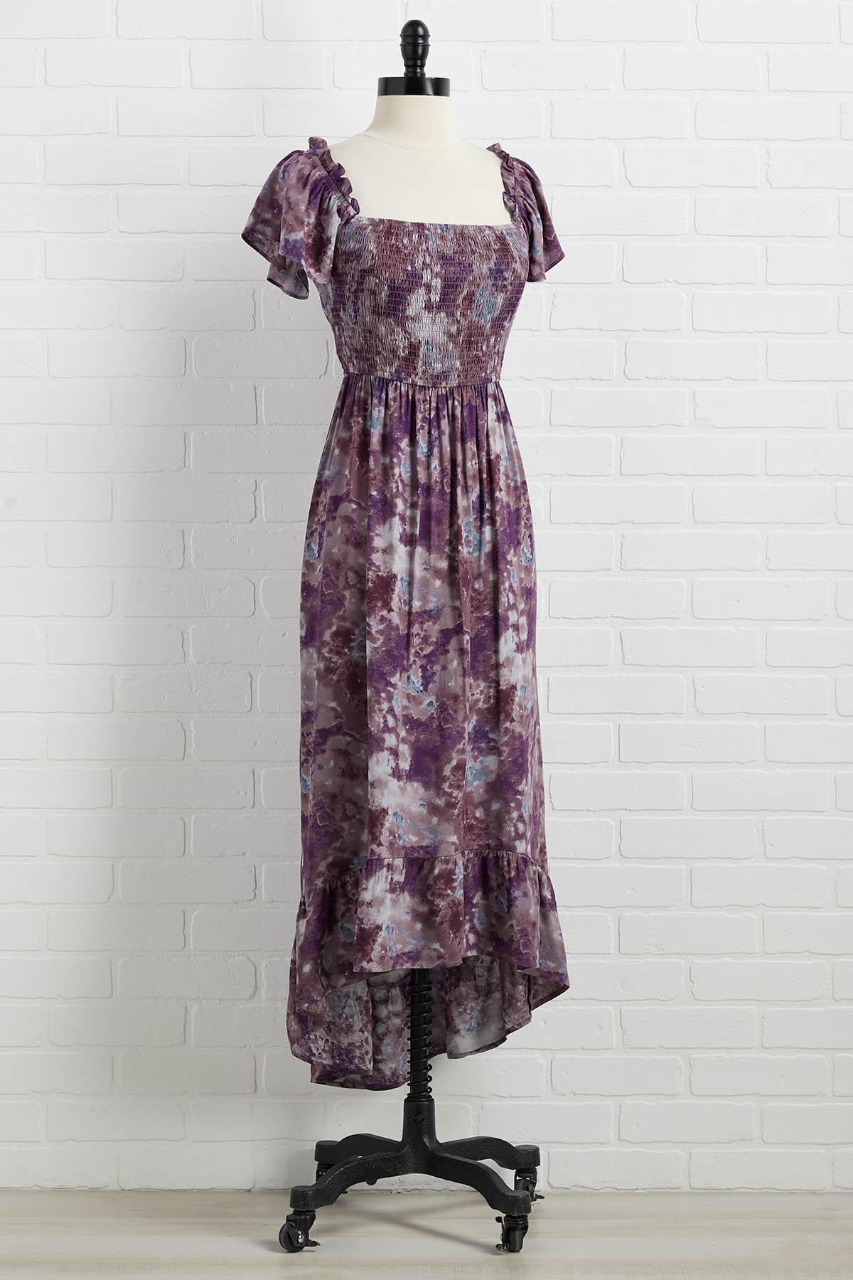 Don ` T Act Plum Dress