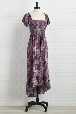 don`t act plum dress