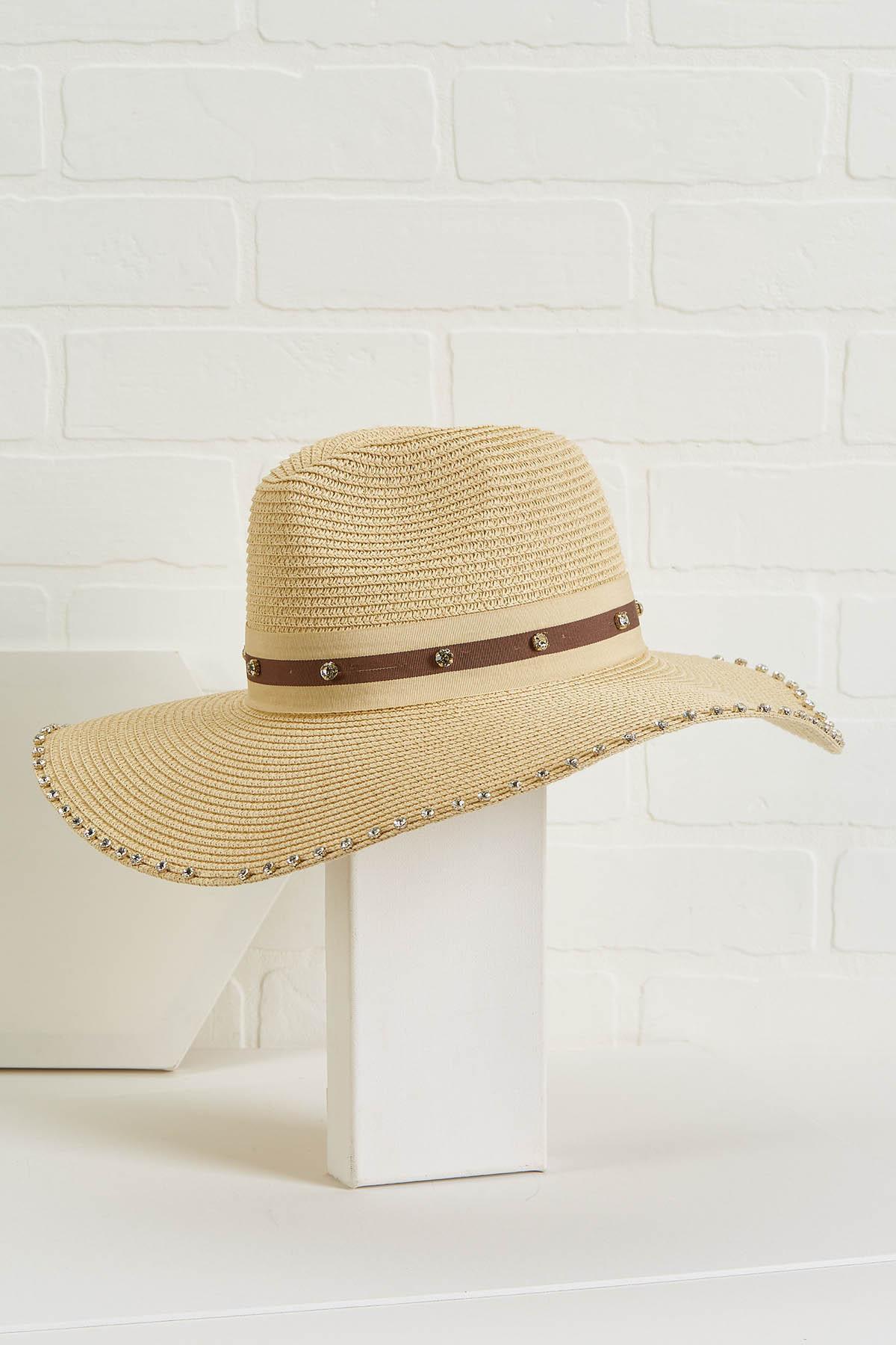 Glitz And Glam Panama Hat