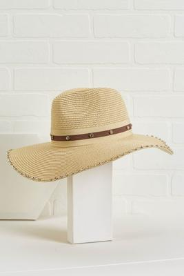glitz and glam panama hat
