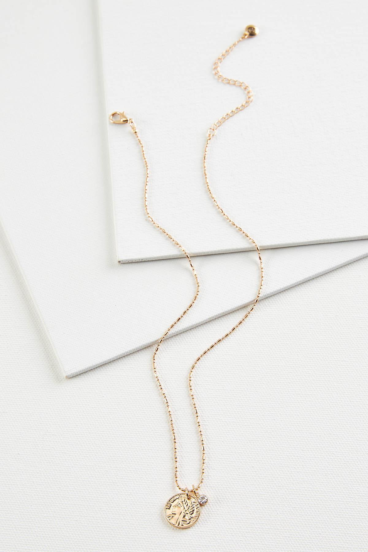 Mini Coin Necklace
