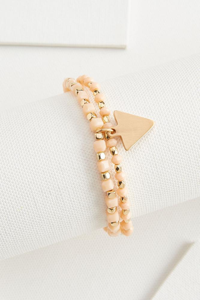 Arrow Charm Bracelet Set