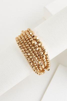 glitz and gold bracelet