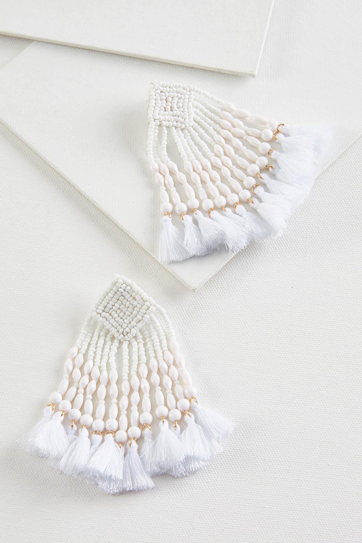 Winter White Earrings