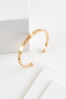 stone metal bracelet