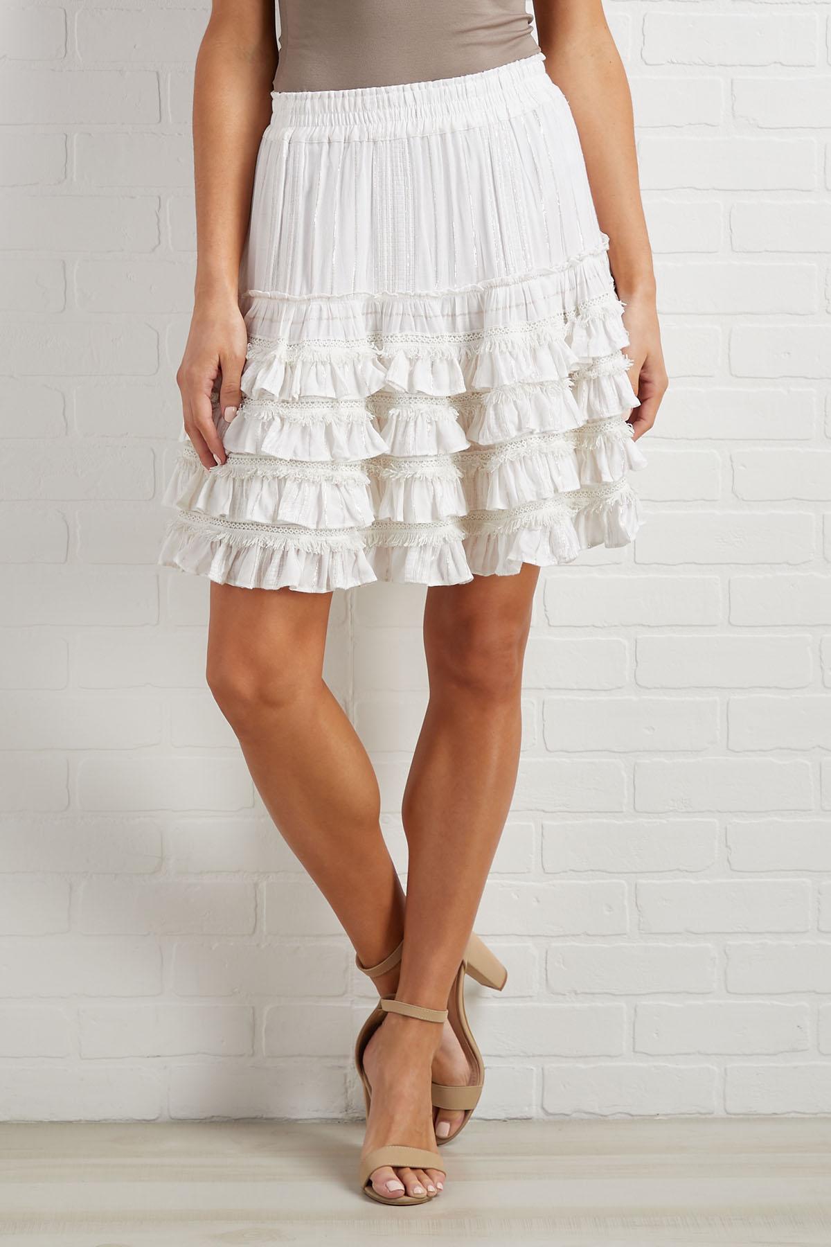 Glimmering Sun Skirt