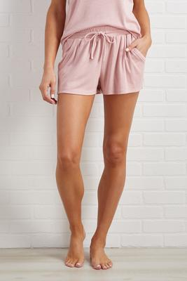 think pink sleep shorts