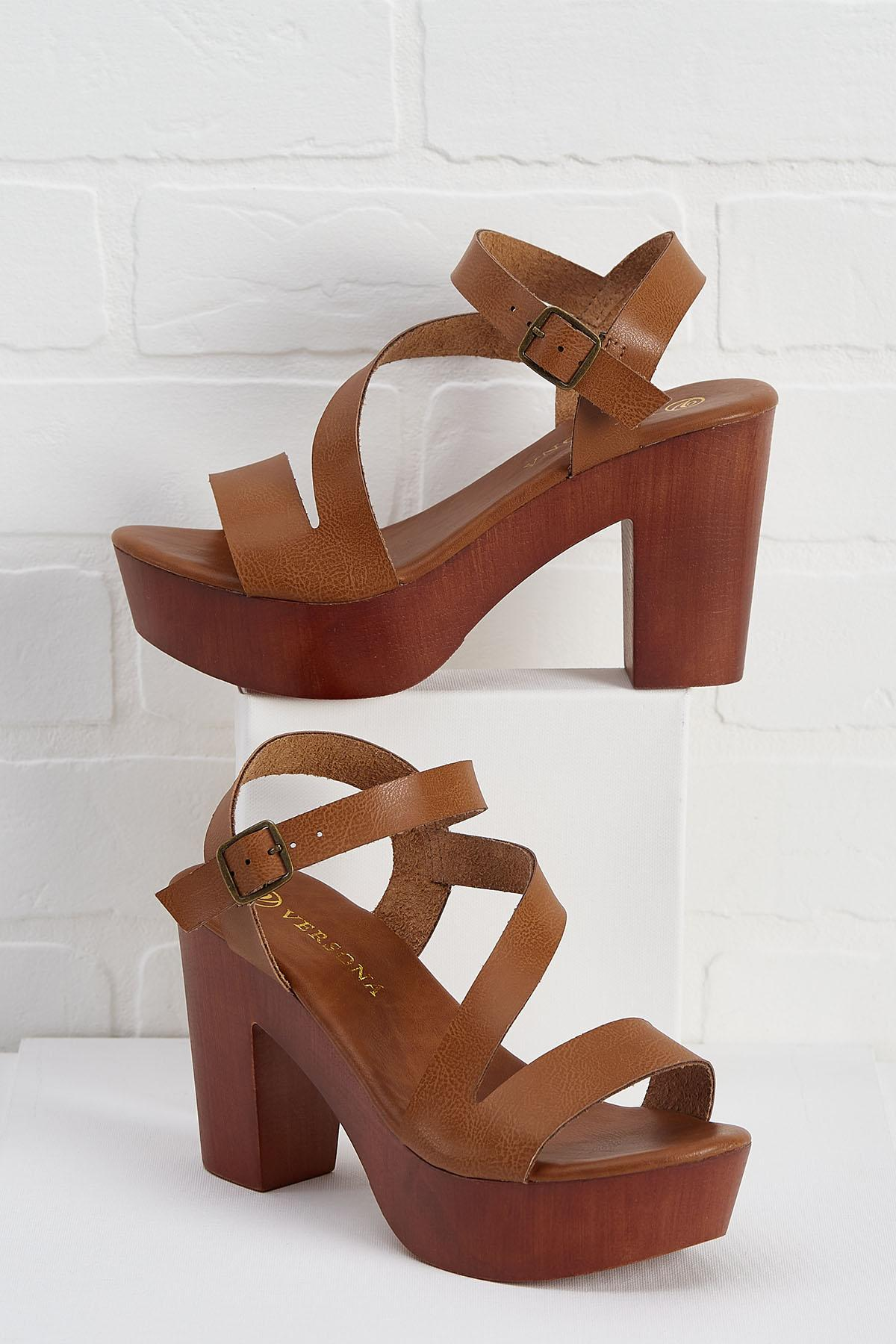 Knock On Wooden Heels