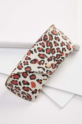 leopard sunglass case