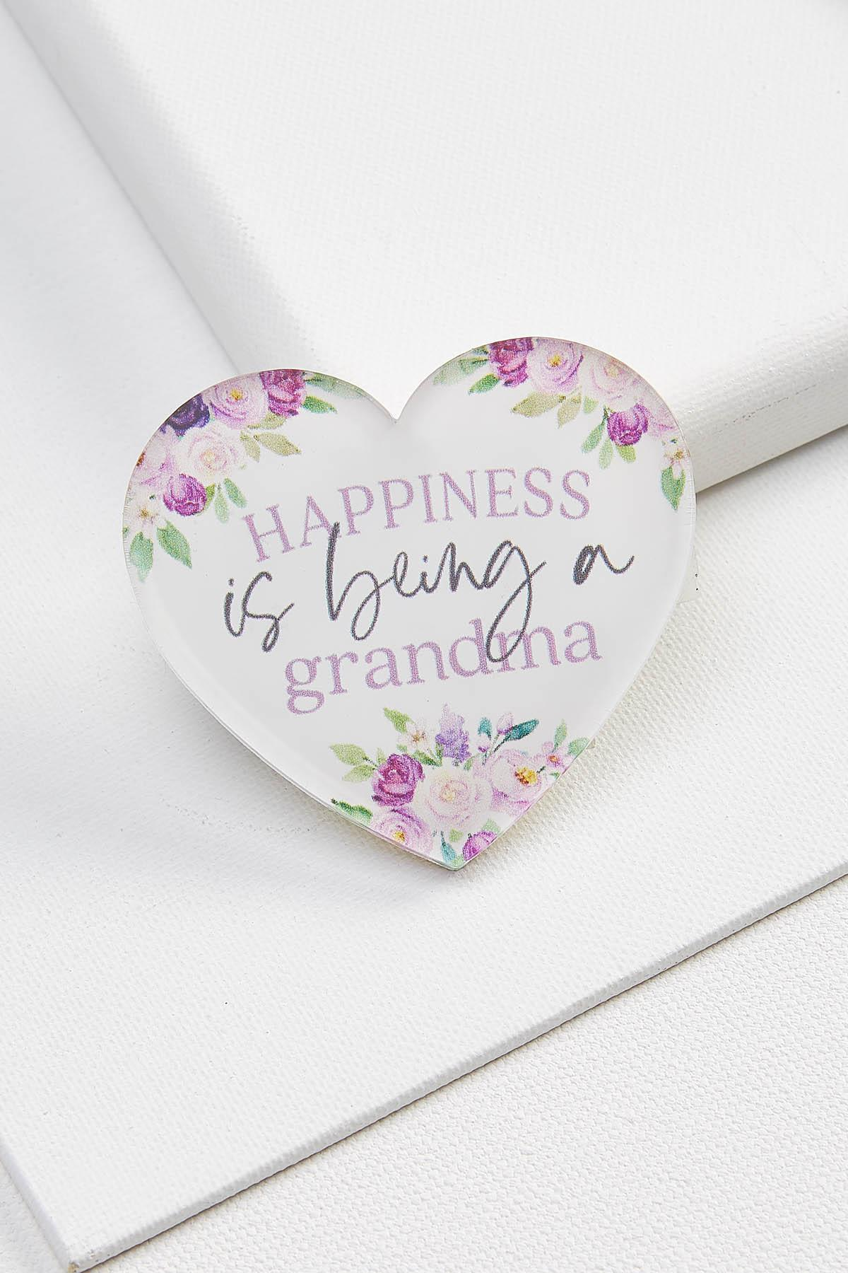 Happiness Is Being A Grandma Magnet