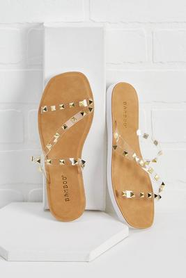 star studded event sandals