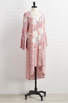 pink paradise kimono