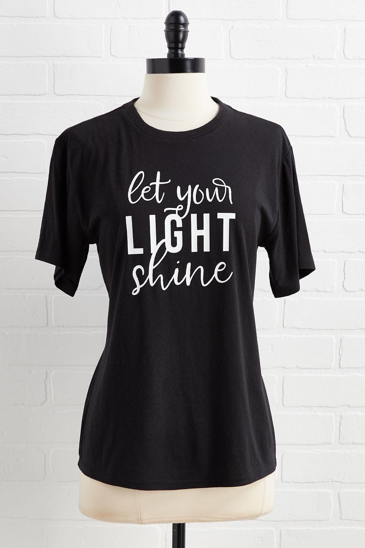 Let Your Light Shine Top