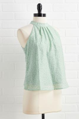 feeling some excite-mint top
