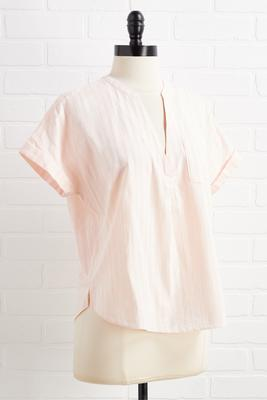 peachy promise top