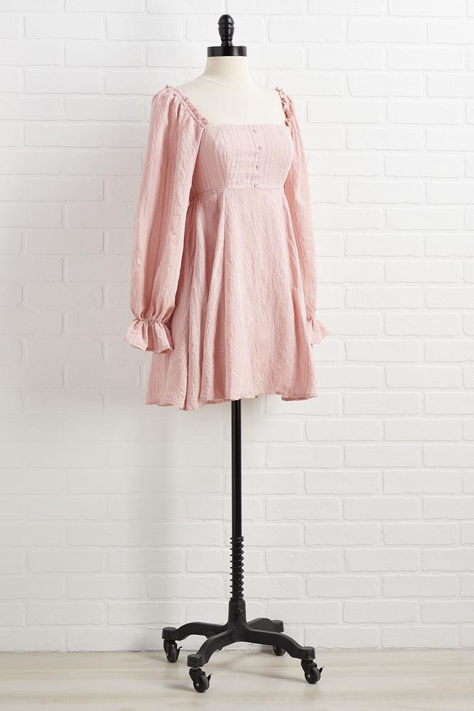 Squarin ` Up To Go Dress