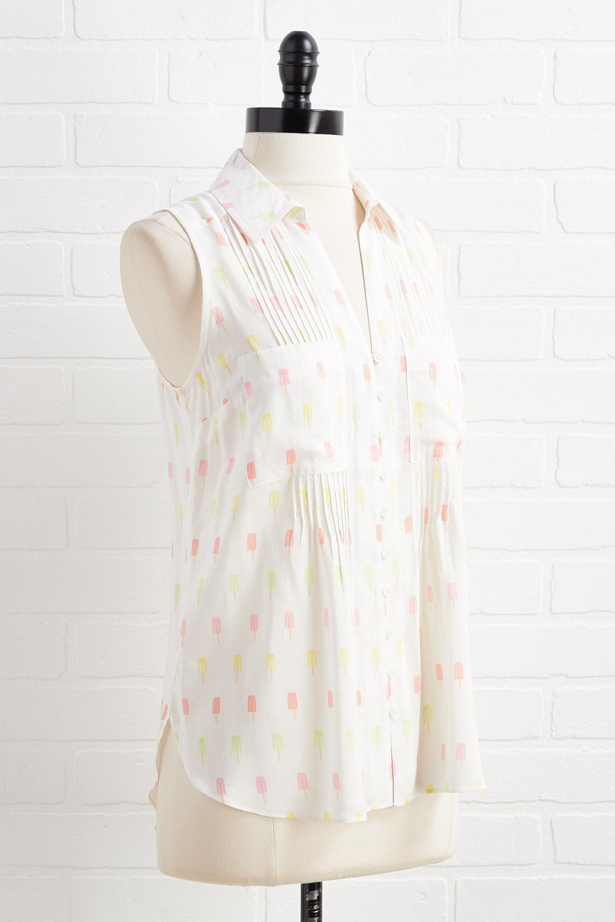 Popsicle Party Top
