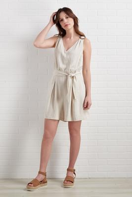 fine and sandy romper