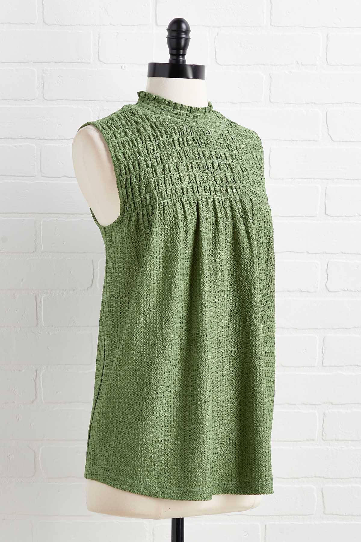 Obviously Olive Top