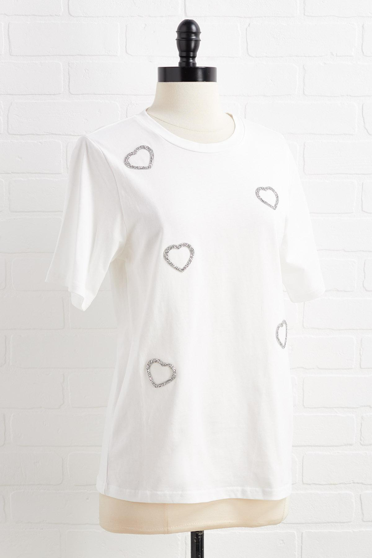 Wear Your Heart On Your Tee Shirt