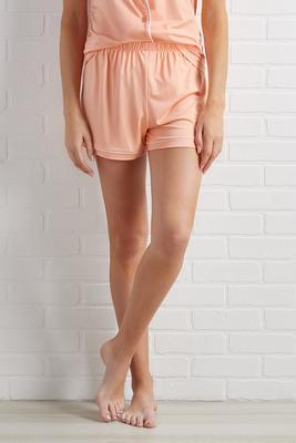 peach dreams sleep shorts