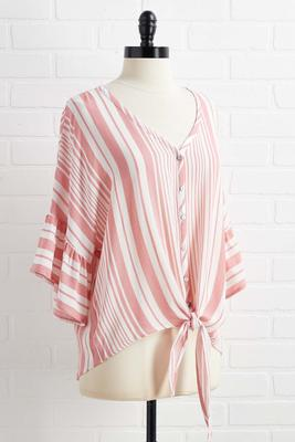 seeing stripes top