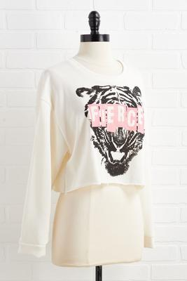 feline fierce top